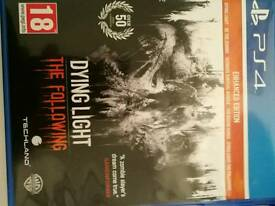 Dying light the following PS4 game