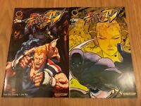 CAPCOM STREET FIGHTER IV COMICS ISSUES 1-2 FIRST PRINTS