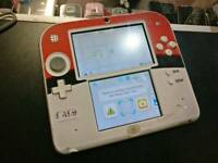 Nintendo 2DS Pokeball Handheld Game Console