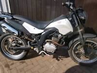 Derbi Cross City SM 125 125cc supermoto style commuter 12month mot clean bike v5