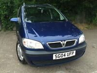 Vauxhall Zafira 2.0 DTi 16v Design 5door Manual with Genuine Low Mileage + FSH + LONG MOT