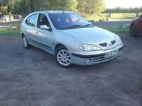 2002 Renault Megane, 1.4 Petrol, Tested, 1 Owner From New, Ready To Drive Away