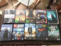 Various dvds sold together