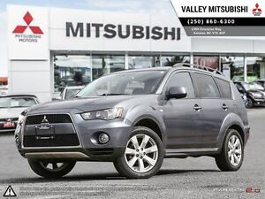 2012 Mitsubishi Outlander ES - PREMIUM Heated Leather Seats, Fol