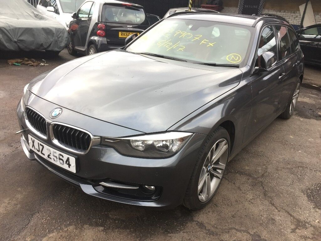 2014 Bmw 320i Sport Touring F31 Spares Or Repairs Non Runner Not