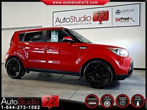 2015 Kia Soul SX GDI **CUIR**PUSH START**CAM RECUL**FINANCEMENT