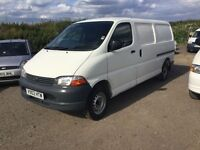 LONG WHEELBASE TOYOTA HIACE SIDE LOADER LOVELY ULTRA RELIBLE VAN CAMBELT CHANGED ANY TRIAL WELCOME