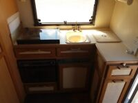 Very good quality caravan fully equipped and ready