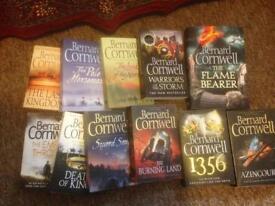 Bernard Cornwell books