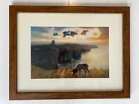 Stag Framed Prints