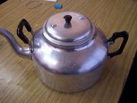 Large Catering aluminum teapot 10 pint capacity