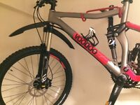 Voodoo canzo mountain bike 2016 edition. Mint condition only used twice.