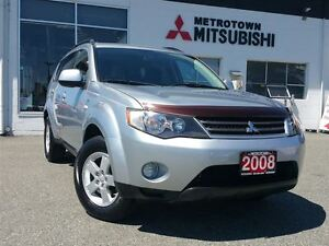 2008 Mitsubishi Outlander LS; One owner vehicle!
