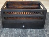 Heavy cast iron fire grate