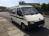 Clean reliable 4 berth camper. Fully working 11 months mot. Great little runner. Petrol.