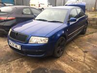 2005 SKODA SUPERB 1.9 TDI BREAKING VW PASSAT, GOLF,SEAT