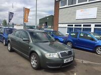 2007 Skoda superb 2.0 tdi fsh, Parking sensors, alloys, air con, 12 months mot 3 months warranty
