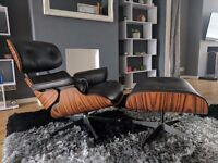 Eames Arm Chair and Stool