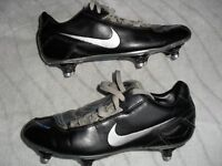 NIKE TOTAL 90 SHOOT FOOTBALL BOOTS - SIZE 5 EXCELLENT SCREW OUT STUDS