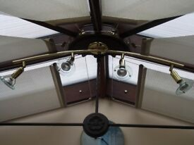 LIGHT FITTING - CURRENTLY IN A CONSERVATORY