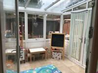 Conservatory for sale - buyer to dismantle and take