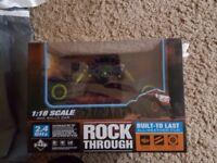 Rock through rally car toy brand new
