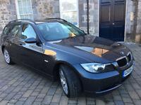 2008 BMW 320D EDITION SE TOURING ESTATE, LEATHER, LOW MILEAGE, LONG MOT, 6 SPEED