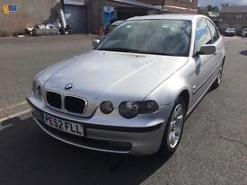 2002 BMW 320TD 2.0D 3 Door Model Full Service History ££Thousands Spent Superb Drive Ready To Go