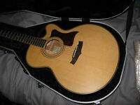 Tanglewood TW155-AS Solid top, Electro-Acoustic guitar