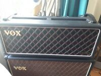 VOX AMP valve head late 1970s . Bass 125 . Can be used with guitar!