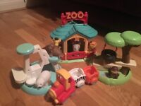 Happyland Zoo, animals and accessories