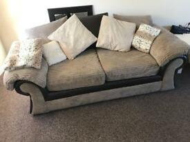 Two lovely two seater sofas