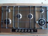 AEG Gas hob ex new build home appliance