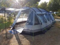 Outwell Premium Collection 2016 Nevada MP Tent, Awning, Insulated Carpet & Footprint