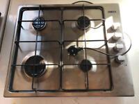 ZGG62414SA zanussi stainless steel 4 ring hob burner