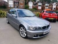 2006 BMW 320CD ES MANUAL 2 DOOR COUPE SILVER LONG MOT F.S.H GOOD RUNNER BARGAIN