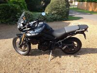 Triumph tiger 800 black immaculate