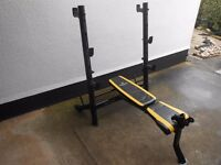 Marcy Bruce Lee Signature Mid-Width Weight Bench - Plymouth