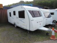 Fleetwood Sonata Prelude 6 Berth Fixed Bunks Touring Caravan 2008