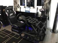 Sim racing rig as new