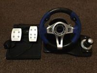 Logic 3 Racing Wheel