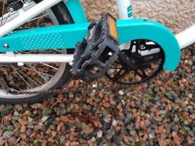Girls 18 inch Bike. As new.