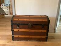 Vintage storage trunk