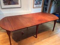 Hand made extendable large Mahogany table