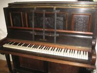 Clarke upright piano