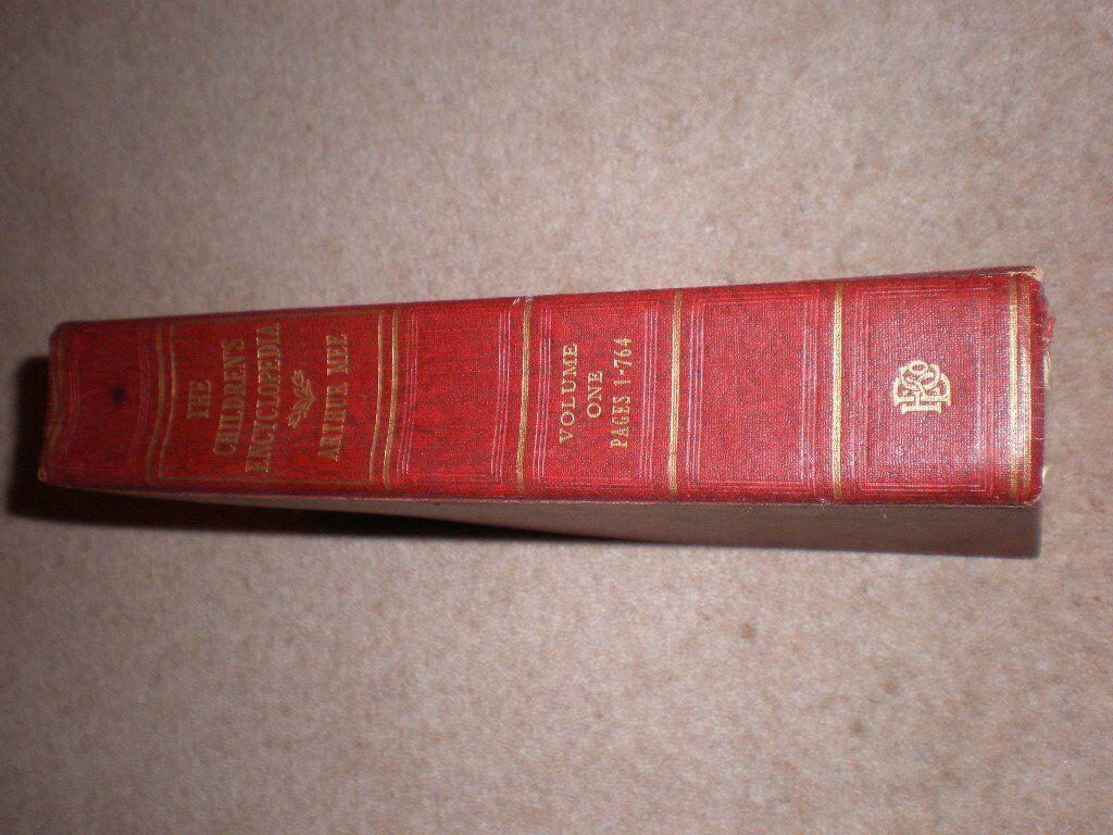 The Childrens Encyclopedia-Arthur Mee 10 Volumes = £50