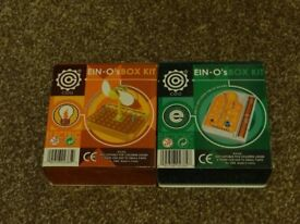 2 Ein-O's Electronics Kits for young engineers