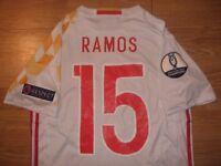 SPAIN & SWEDEN FOOTBALL SHIRTS - RAMOS MORATA & IBRAHIMOVIC EURO 2016 REAL MADRID MANCHESTER UNITED