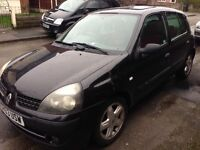 RENAULT CLIO 1.5 DCI DIESEL 2003 53 REG 5 DOOR ONLY £30 YEAR ROAD TAX RUNS AND DRIVES WELL