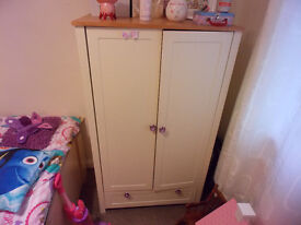 Child's Wardrobe and Chest of Drawers - Great Condition